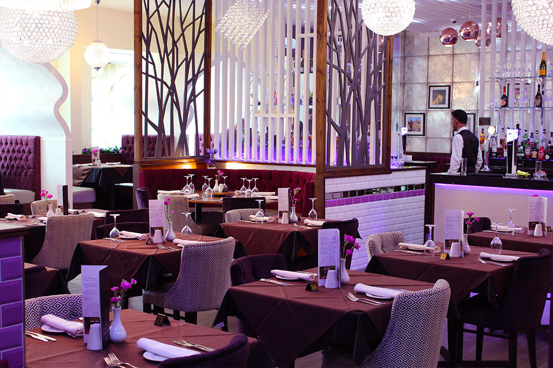 purple lounge restaurant